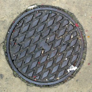 Coal hole cover - Brewer Street