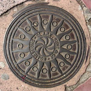 Coal hole cover - North Place