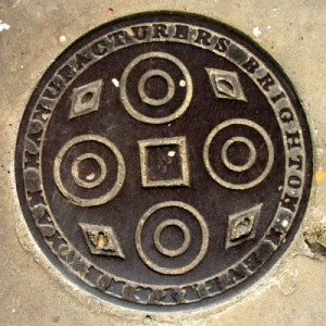 Coal hole cover - Pelham Square
