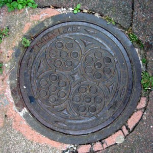 Coal hole cover - Stanford Road