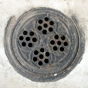Coal hole cover - Tidy Street