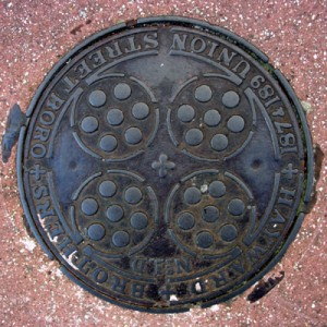 Coal hole cover - Victoria Road